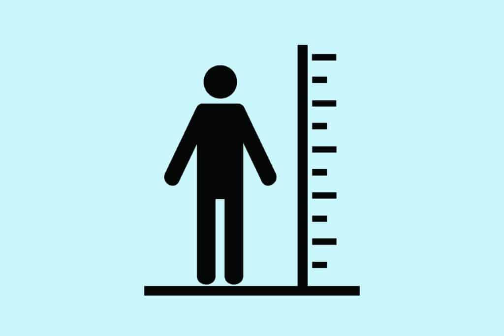 cuanto debo pesar si mido 1.75 hombre